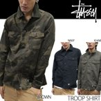 STUSSY シャツ Troop Shirt 011861 ステューシー