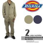 ディッキーズ Basic Cotton Coverall-Regular Tall 定番ワーク長袖つなぎ カバーオール Dickies 48300 作業着 ツーリング