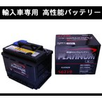 ★輸入車用バッテリー★ワーゲン ゴルフトゥーラン 1TCAV 60Ah用