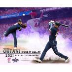 エンゼルス 大谷翔平 MLB オフィシャル グッズ 公式 2021年 オールスター 二刀流 記念写真