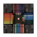 サクラクレパス クーピーペンシル 100色 ブラックパッケージエディション FY100A[予約販売11月初旬頃発送予定]