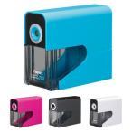 アスカ 乾電池式電動シャープナー<電動鉛筆削り> 4カラー dps30-ask