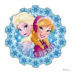 アナと雪の女王 ぷっくりステッカー<シール> DC FR E&A<エルサ&アナ>柄 4901770441436  [M便 1/1]