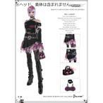 ドールズフィギュア  cc240 1/6フィギュア用衣装 女性用 セクシーパンク コスチュームセット(DOLLSFIGURE CC240)