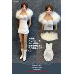 ドールズフィギュア cc273 1/6フィギュア用衣装 女性用 パーティードレスセット  (DOLLSFIGURE cc273)