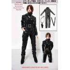 ドールズフィギュア FT007 1/6フィギュア用衣装 女性用 ブラックボディスーツ (DOLLSFIGURE FT007)