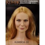 KUMIK 1/6サイズフィギュア用 女性ヘッドパーツ 16-10