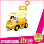 四輪車 おもちゃ 乗用玩具 アンパンマン NEWよくばりビジーカー2 【押し棒+ガード付】 アガツマ Agatsuma