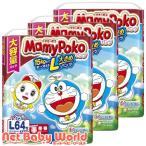 マミーポコ パンツ オムツ ドラえもん L(9〜15kg) ( 64枚入*3袋 )/ マミーポコ