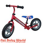 送料無料 バランスバイク アルミボディ レッド ラングスジャパン RANGS JAPAN 三輪車のりもの・自転車用チャイルドシート 乗用玩具 足けり