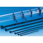 ヘラマンタイトン AB250-W インシュロック ABタイ 66ナイロン 耐候グレード 黒 φ1.5〜65mm 100本入