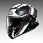 ショウエイ SHOEI  バイクヘルメット システムフルフェイス NEOTEC2 EXCURSION  エクスカーション  TC-6  WHITE BLACK  XXL  63cm  -