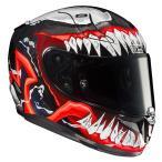 HJC エイチジェイシー バイクヘルメット フルフェイス VENOM2 MC1   サイズ XL  MARVEL RPHA11 VENOM2 ベノム2  HJH166