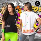 新品 ZUMBA 半袖ヨガウエア ズンバ ウェア ダンスウェアフ フィットネス 夏ウェア エアロビクスウエア スポーツウェアレディース ヨガ 運動用