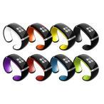 ショッピングbluetooth Bluetoothブレスレット ファッションデザイン 欧米大人気なスマートウォッチ