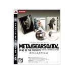 PS3/【Blu-ray】メタルギアソリッド 4 ガンズ・オブ・ザ・パトリオット スペシャルエディション(限定版)
