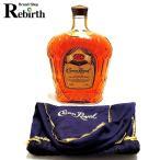 古酒 ヴィンテージ ウイスキー CROWN ROYAL クラウンローヤル クラウンロイヤル 1976年 カナディアン 1000ml アルコール度数40% FS 中..