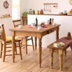 ダイニングテーブルセット 4人 カントリー家具 Chelsey*Mom チェルシー・マム ダイニング4点セット