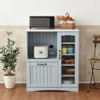 カラーとディテールで魅せるフレンチスタイルキッチンカウンター