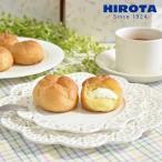 シュークリーム ツインフレッシュ (カスタード/ホイップクリーム) 父の日 1箱4個入 洋菓子のヒロタ HIROTA スイーツ ギフト おやつ お菓子 (1個28g)