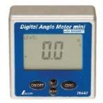 シンワ測定 デジタルアングルメーター ミニ マグネット付 76447 基準点からの測定に便利 機械・設備などの設置作業に最適