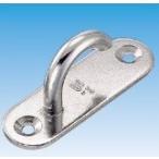 水本機械製作所 ステンレス金具 オープンパッドアイ OPD-6 線径6mm・幅20×60mm・高さ26mm・厚2mm