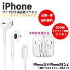 Rainbow iPhone イヤホン 有線 Bluetooth対応 lightning 高音質 音量調節 通話可能 リモコン付き カラー