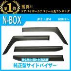 ホンダ NBOX/N-BOX/カスタム JF3/JF4 平成29年9月〜 純正型サイドバイザー/ドアバイザー