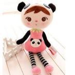 人形 女の子 パンダの着ぐるみ