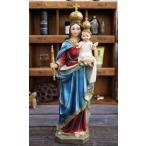 置物 聖母 マリア 天使 像