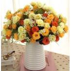 薔薇と花器のセット おしゃれでかわいいインテリアフラワー