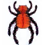 吊り下げオーナメント ハロウィン 大きな蜘蛛型 5個セット (B)