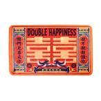 玄関マット レトロチャイナ風  漢字 鮮やかな色合い (Dタイプ)