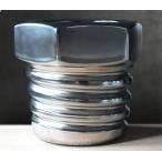 フラワーベース 花瓶 ネジ型 陶器製 シルバー