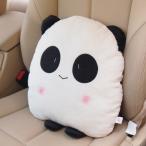 シートクッション 癒し系 パンダさん 足付き 薄型 (たれ目)
