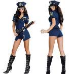 ハロウィン コスプレ 警察コース 女性 ポリスコスプレ衣装 仮装 セクシー  ハロウィン コスチューム ミニスカ 婦人警 ミニスカー