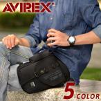 シザーバッグ - アヴィレックス AVIREX ショルダーバッグ レッグバッグ イーグル avx348
