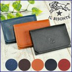 10%OFF イルビゾンテ IL BISONTE カードケース 名刺入れ