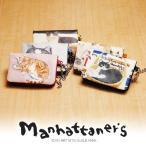 ショッピングマンハッタナーズ manhattaner's マンハッタナーズ パスケース フレンチパース