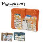 ショッピングマンハッタナーズ マンハッタナーズ manhattaner's 二つ折り財布 二つ折財布 折財布 ピッグパーズ レディース 父の日