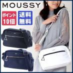 ショルダーバッグ レディース マウジー moussy  白 黒 A5 mb01115103