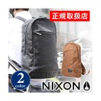 30%OFFセール ニクソン リュック バックパック メンズ レディース NIXON リュックサック リュック デイパック MAKERS メイカーズ nc2395