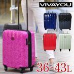 スーツケース キャリー ハード 旅行かばん ビバユー VIVAYOU 36〜43L トラベラー 小型 2〜3泊程度 レディース 5301111
