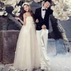 ウェディングドレス 二次会 ウェディングドレス 安い 花嫁 結婚式 二次会 ウエディングドレス パーティー マタニティ 妊婦可 2色 大きいサイズ