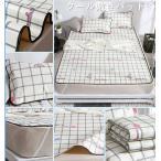 新作 涼しい ひんやり ベッドパッド 敷きパッド ラグ 夏 生地 北欧 寝具 涼感 接触冷感 タオルケット セミダブル シングル ブランケット ひんやりマット ダブル