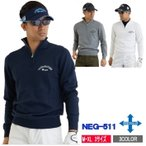 ゴルフセーター メンズ セーター ハーフジップアップ