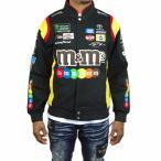 ナスカー  ジャケット jhデザイン NASCAR メンズ m&m's エムアンドエムズ 黒 ●JK-207