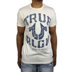 トゥルーレリジョン Tシャツ TRUE RELIGION 半袖 ホワイト 白 ロゴ メンズ 春夏●ts-a29