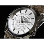 COACH コーチ New Classic Signature ニュー クラシック シグネチャー 14501526 シルバー/ブラウン&ホワイト レディース 腕時計 即納