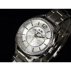 COACH コーチ Boyfriend MiniCrystal ボーイフレンド ミニ クリスタル 14502147 シルバー 腕時計 レディース 即納